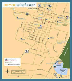 Map Of Winchester Va Map & Directions   Visit Winchester Virginia Map Of Winchester Va