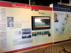civil war orientation center winchester