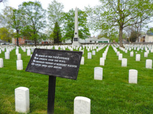 memorial day winchester, national cemetery