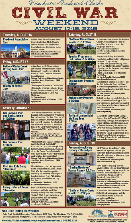 winchester va events Archives - Winchester-Frederick County