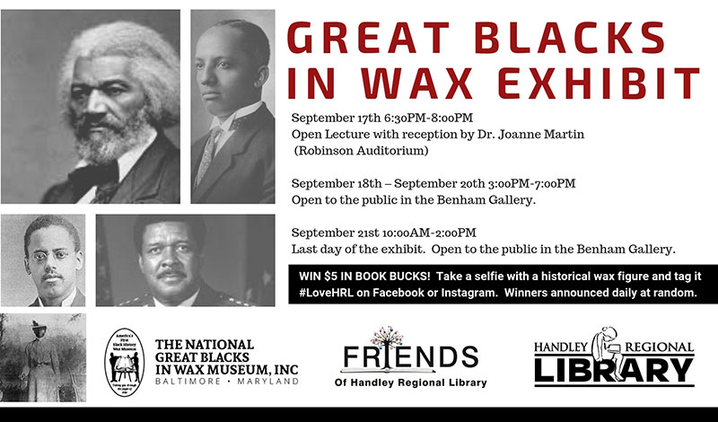 Great Blacks In Wax Exhibition Winchester Frederick County