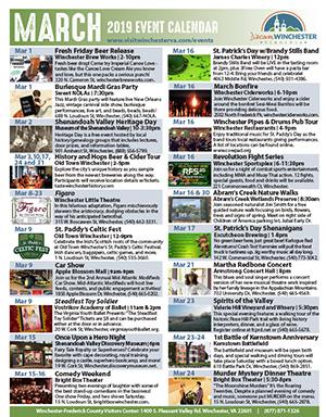winchester va events march